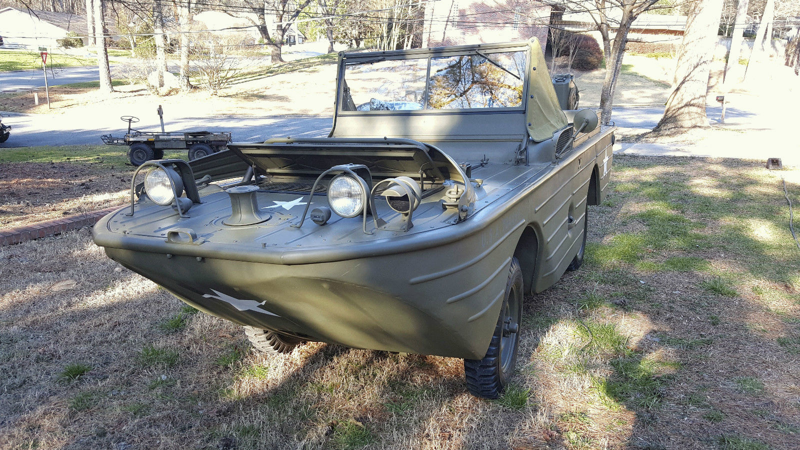 1942 Ford GPA   Restored Swimmer   Amphibious Jeep for sale