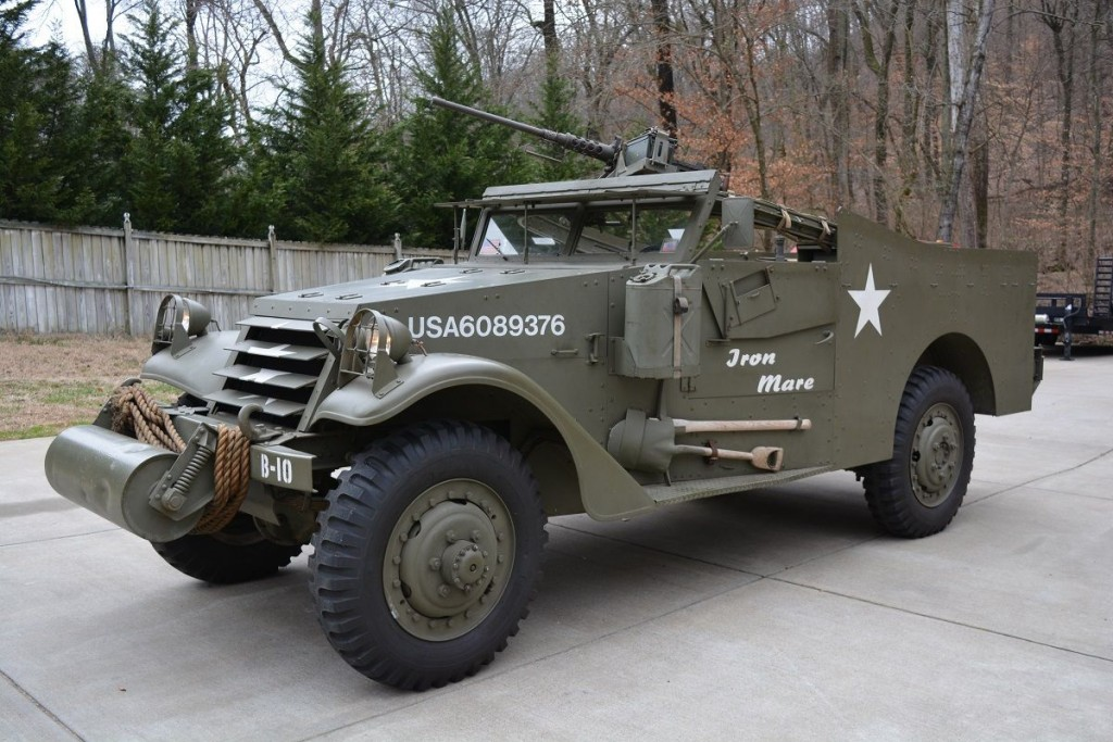 M3 Tank For Sale >> 1942 Scout Car M3A1 Restored Runner with radios for sale
