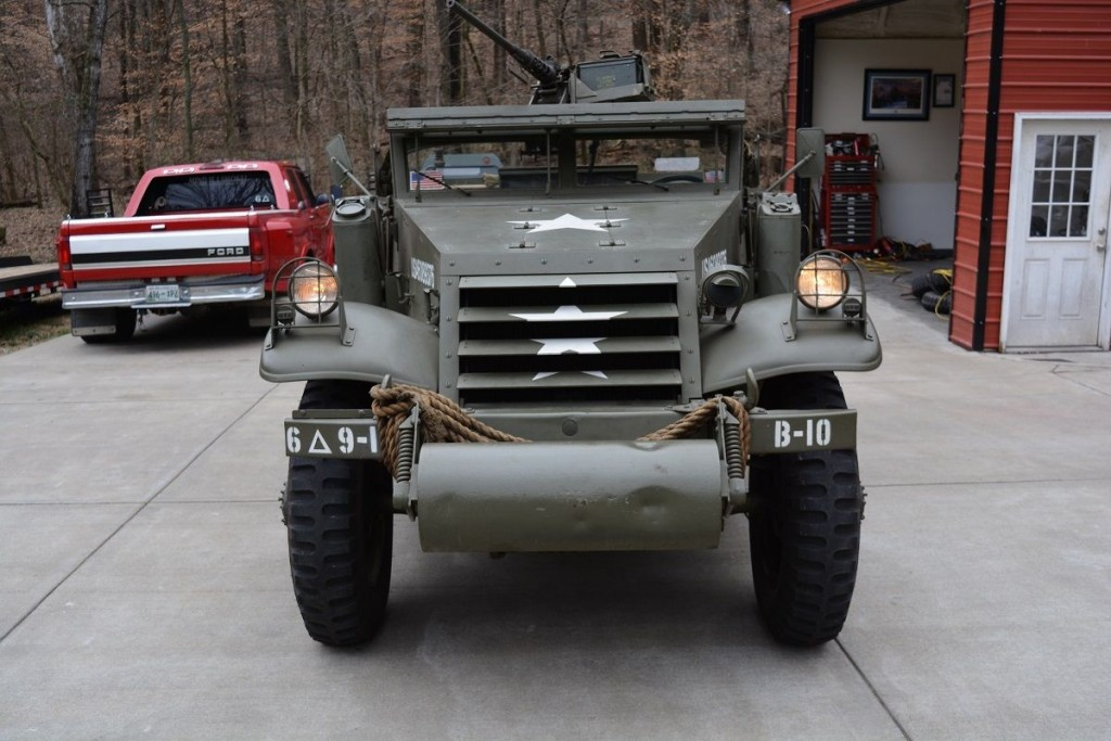 1942 Scout Car M3A1 Restored Runner with radios for sale on