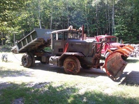 1957 Rebuilt 1987, Oshkosh, W712, 4×4, Plow Truck Ex Air Force Diesel 9 Spd for sale