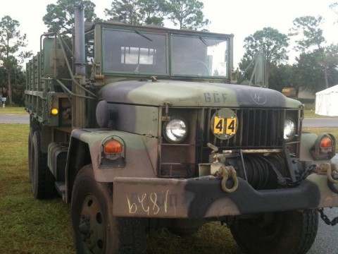 1968 Deuce and a half W/ PTO winch for sale