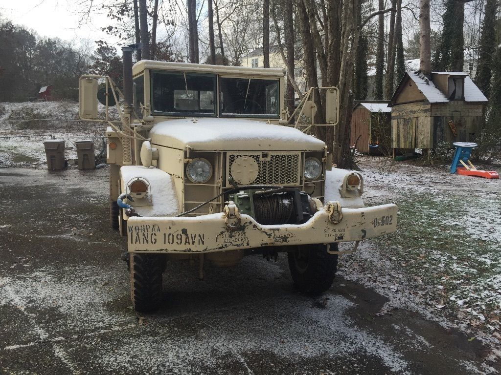 1973 AM General M35A2 (Deuce and a half) Multi Fuel Turbo Diesel