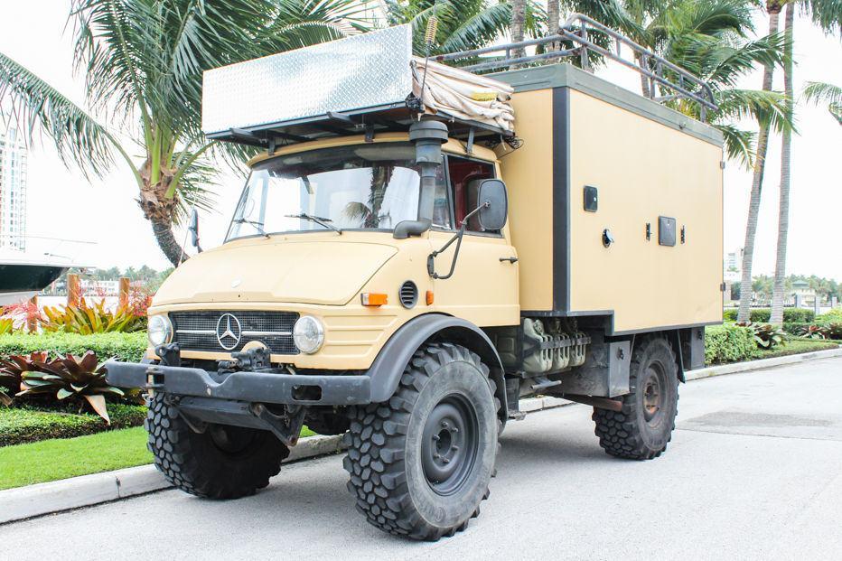 1979 mercedes benz unimog 416 camper for sale. Black Bedroom Furniture Sets. Home Design Ideas