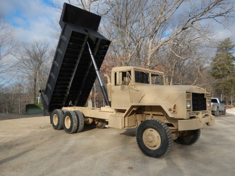 1984 AM General M934A1 Military dump Truck 16″ bed for sale