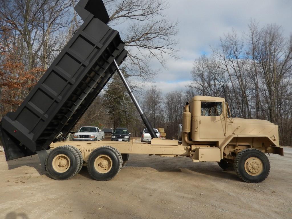 1984 am general m934a1 military dump truck 16 bed for sale. Black Bedroom Furniture Sets. Home Design Ideas