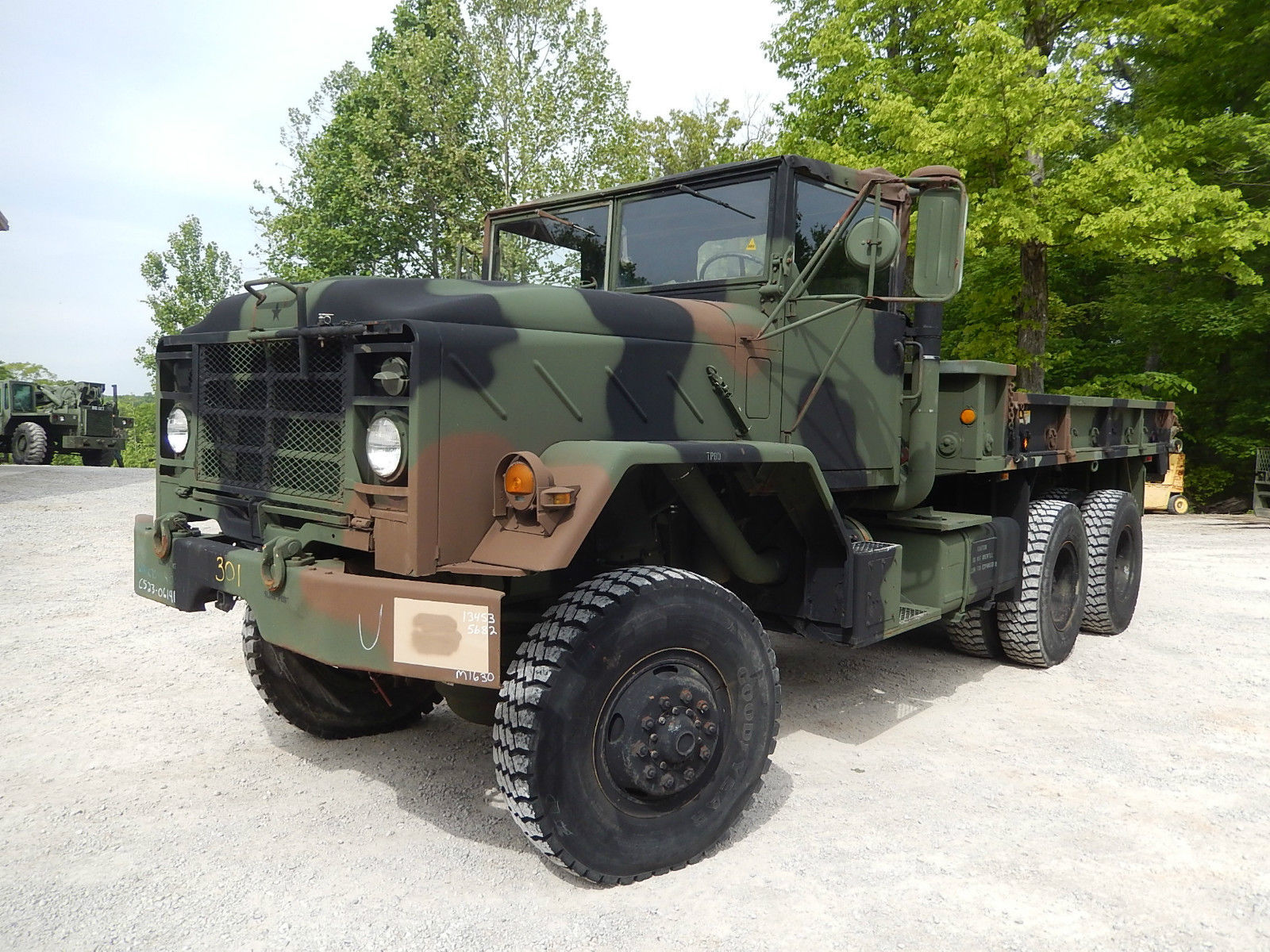 1984 m923a1 military cargo truck am general for sale. Black Bedroom Furniture Sets. Home Design Ideas