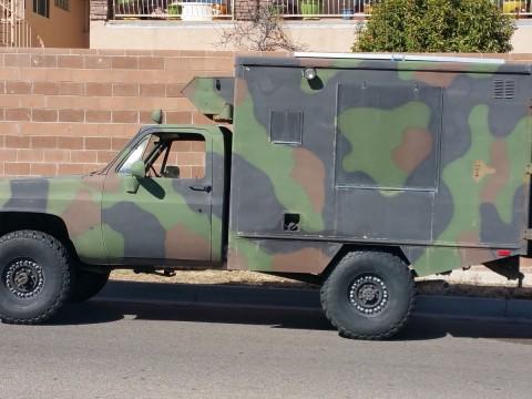 1985 Chevrolet Military Cucv, M1010 Truck, Ambulance, Tactical, 1 1/4 Ton, 4×4, K30 for sale