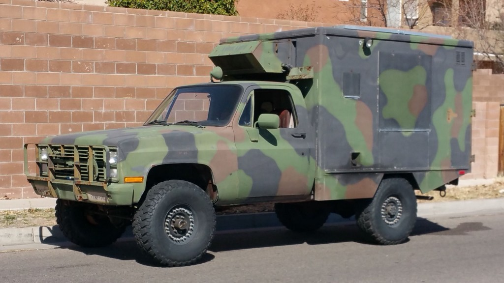 1985 Chevrolet Military Cucv, M1010 Truck, Ambulance ... on