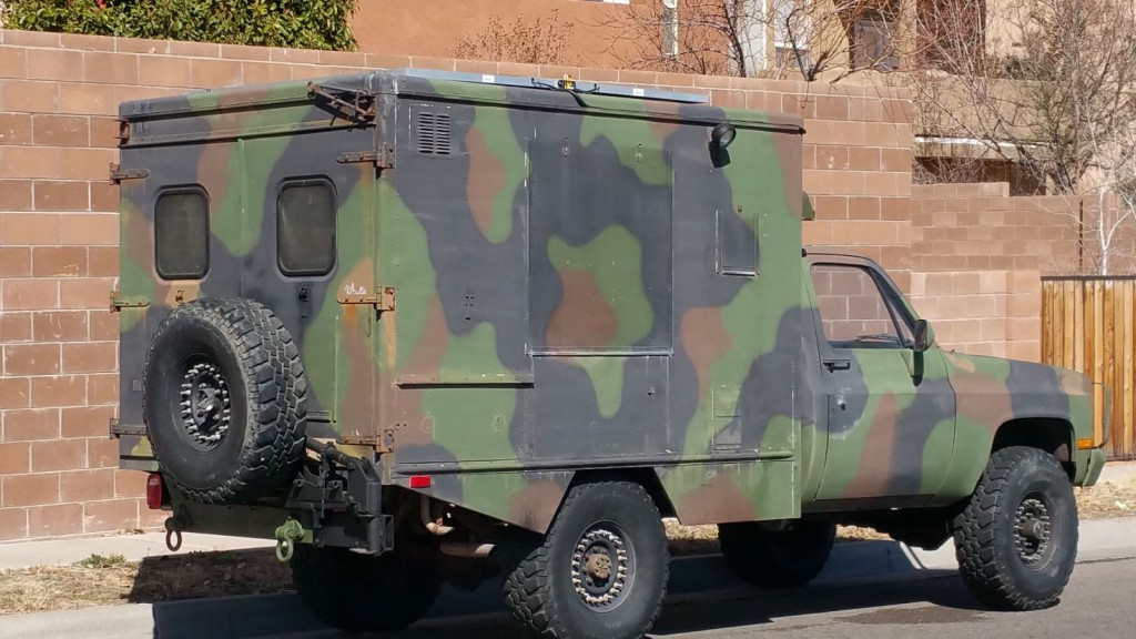 1985 chevrolet military cucv m1010 truck ambulance tactical 1 1 4 ton 4 4 k30 for sale. Black Bedroom Furniture Sets. Home Design Ideas