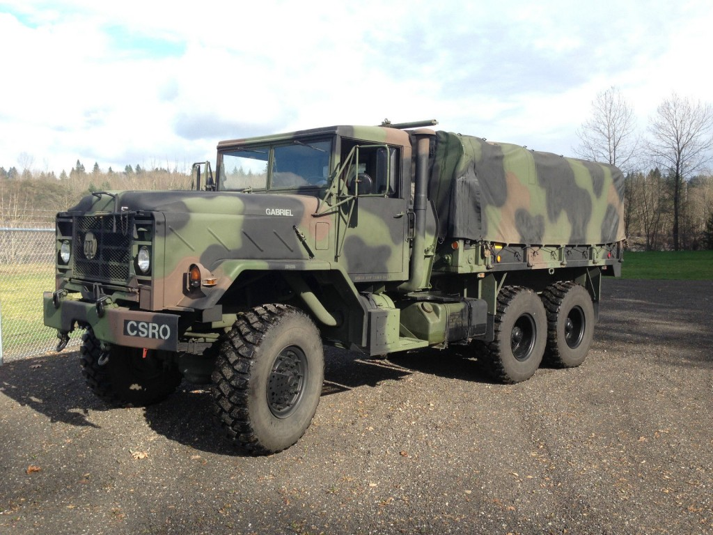 Kaiser Jeep For Sale >> 1990 M923A2 Used On TV Show for sale