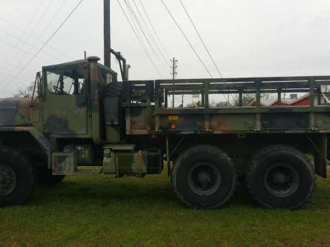 1991 AM General M923 5 Ton 6×6 Cargo Truck for sale