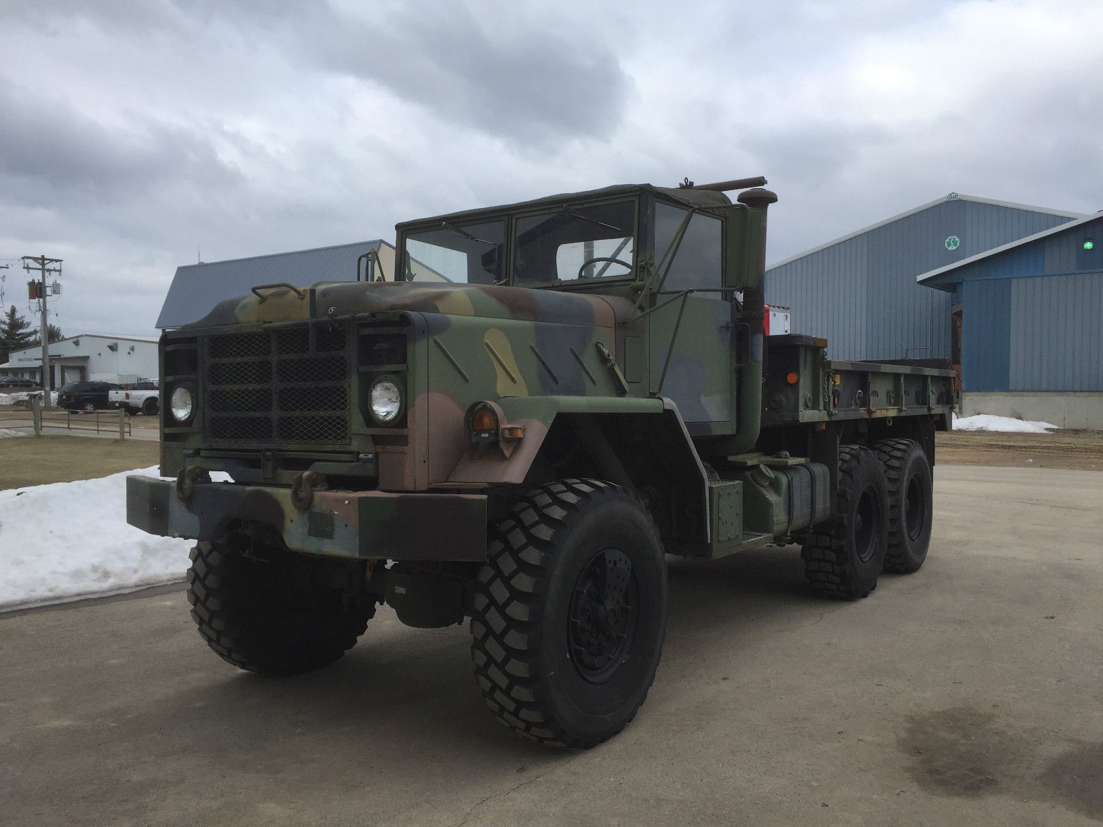 1991 BMY Harsco M923a2 Cargo Truck for sale
