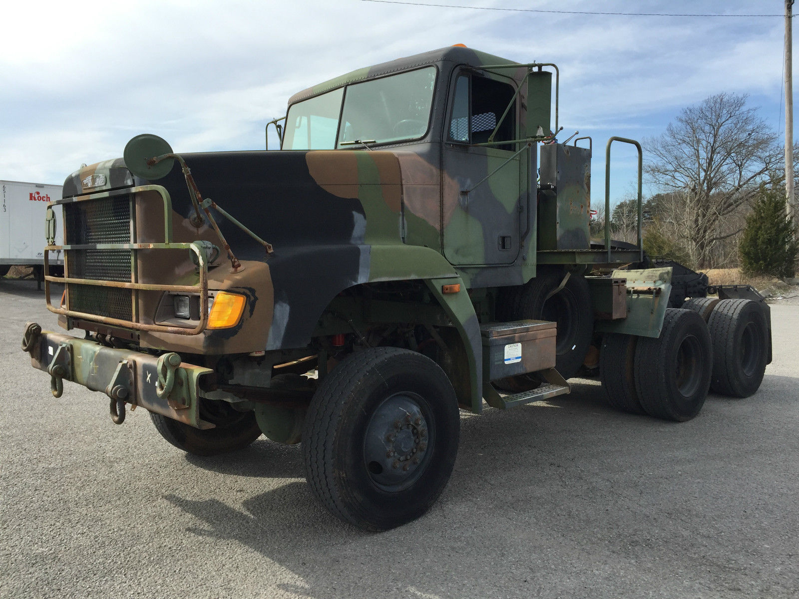 1992 Freightliner M916a1 LET Tractor Military Heavy Haul for sale