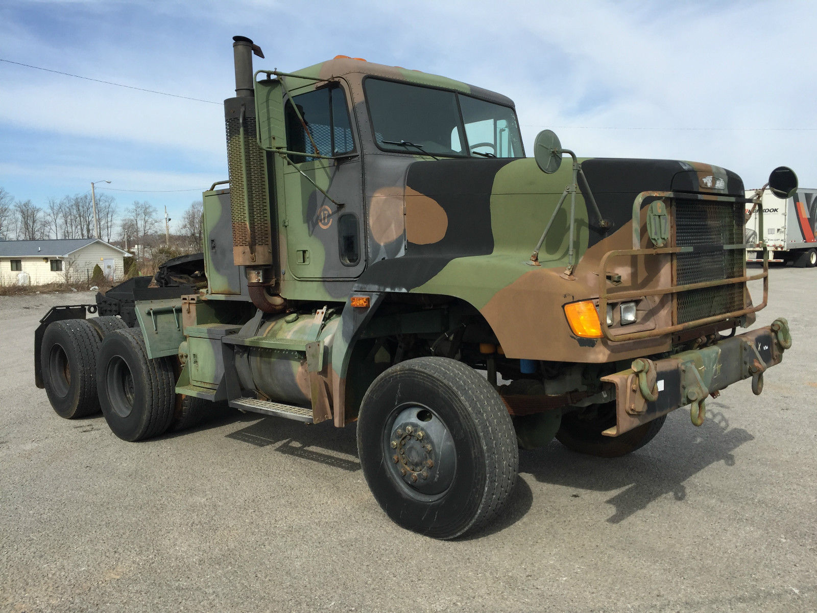 1992 Freightliner M916a1 LET Tractor Military Heavy Haul