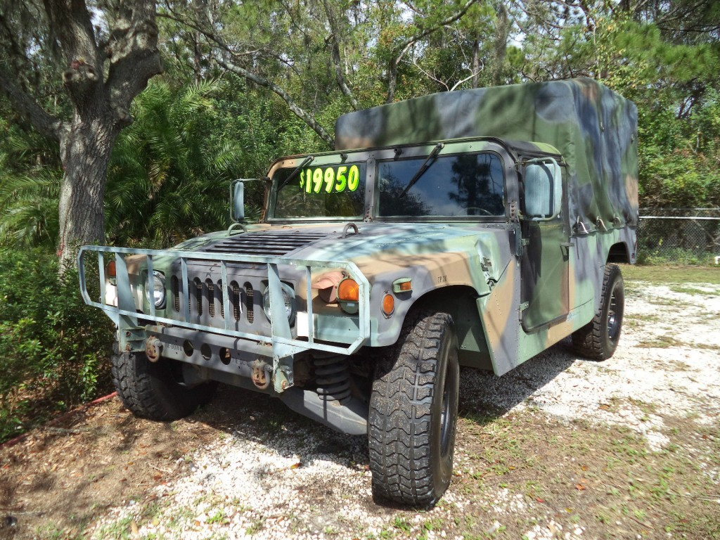 1992 M998 Hmmwv Military Hummer Am General For Sale