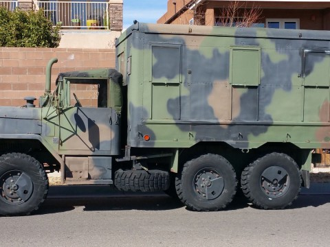 1993 AM General M109a4 2.5 Ton Shop Van Deuce and a half for sale