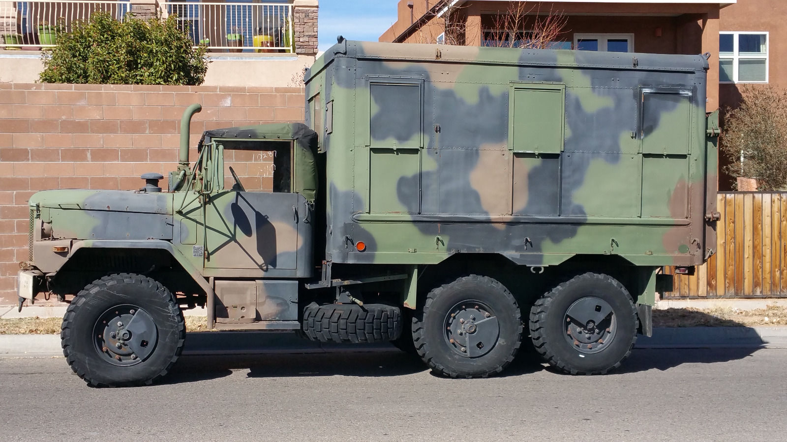 1993 AM General M109a4 2.5 Ton Shop Van Deuce and a half for sale M Wiring Diagram on