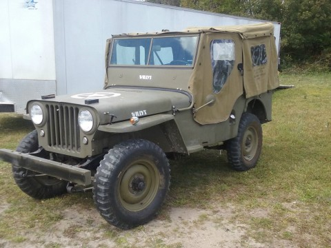 1946 Willy's Jeep for sale