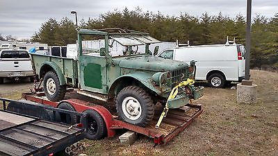 1950s Dodge M37 Power wagon for sale