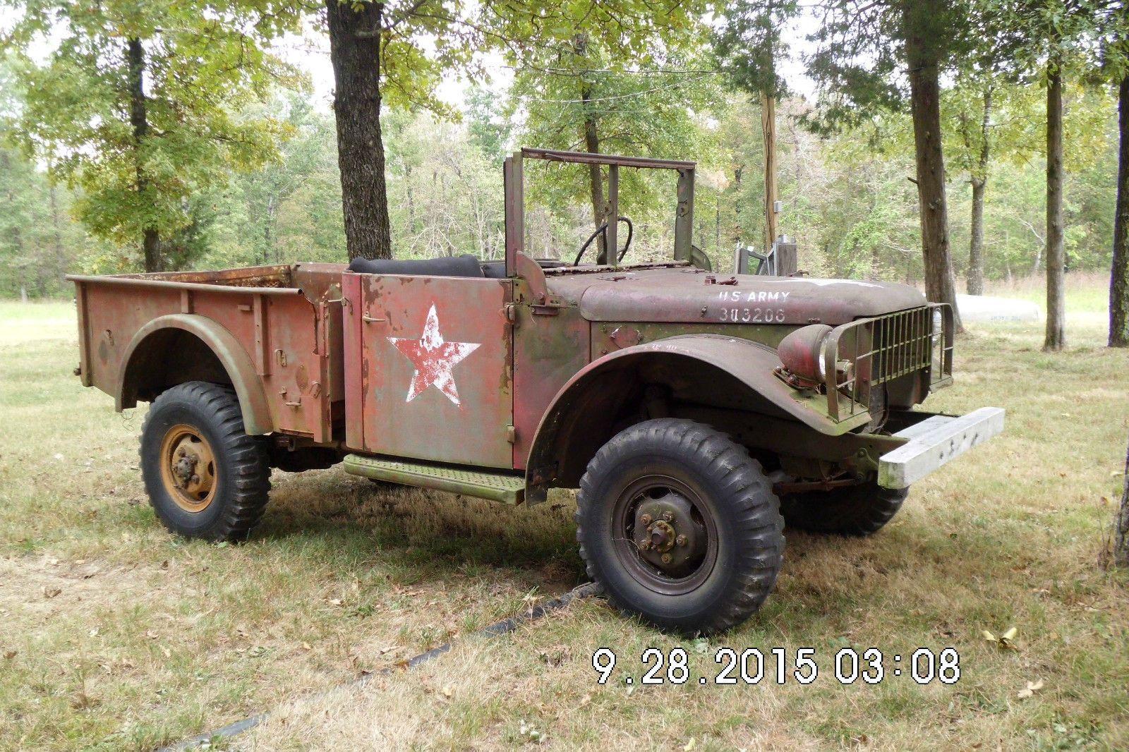 1950 Dodge Power Wagon >> 1962 Dodge M 37 for sale