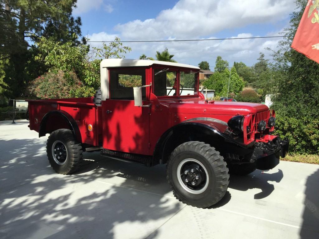 Dodge M37 Parts >> 1962 Dodge Power Wagon M37 for sale