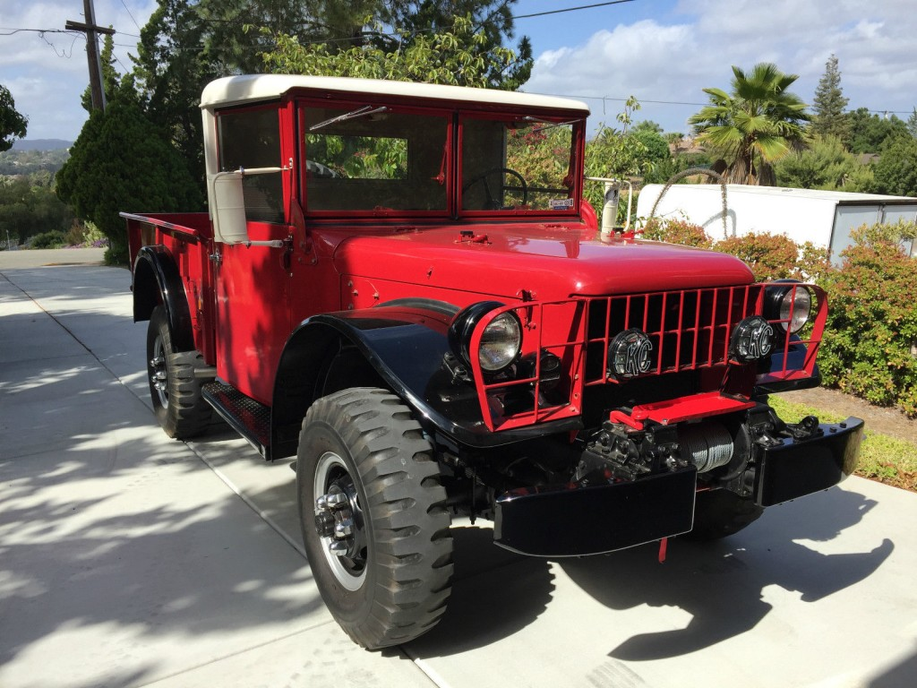 dodge power wagon m37 for sale in fallbrook california dodge power. Cars Review. Best American Auto & Cars Review