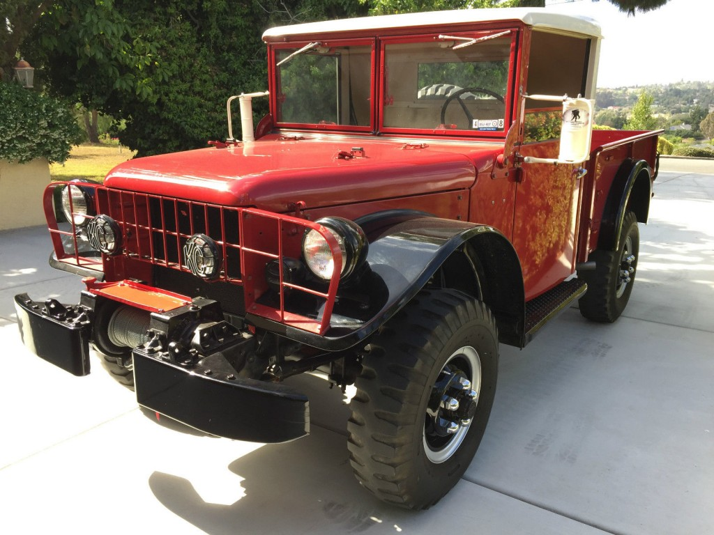 Used Ram Power Wagon >> 1962 Dodge Power Wagon M37 for sale