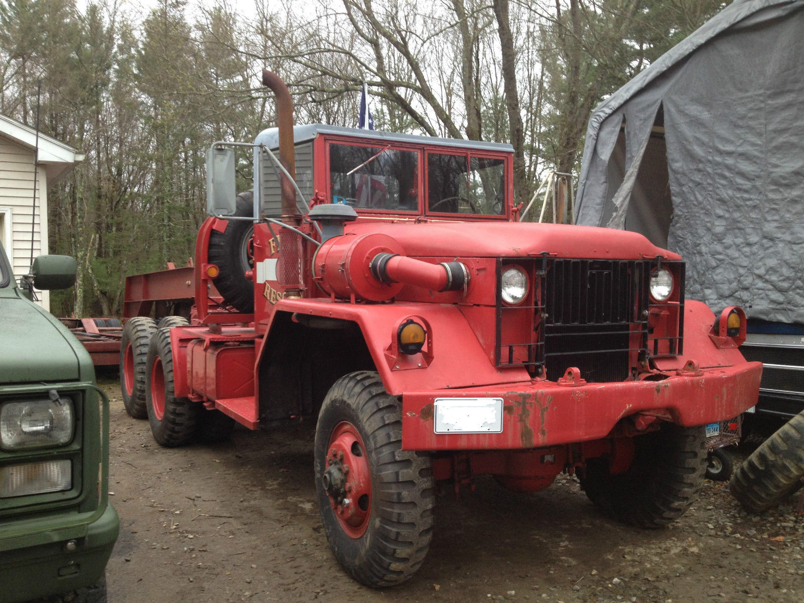 1974 Am General Mack Powered M52a2 For Sale