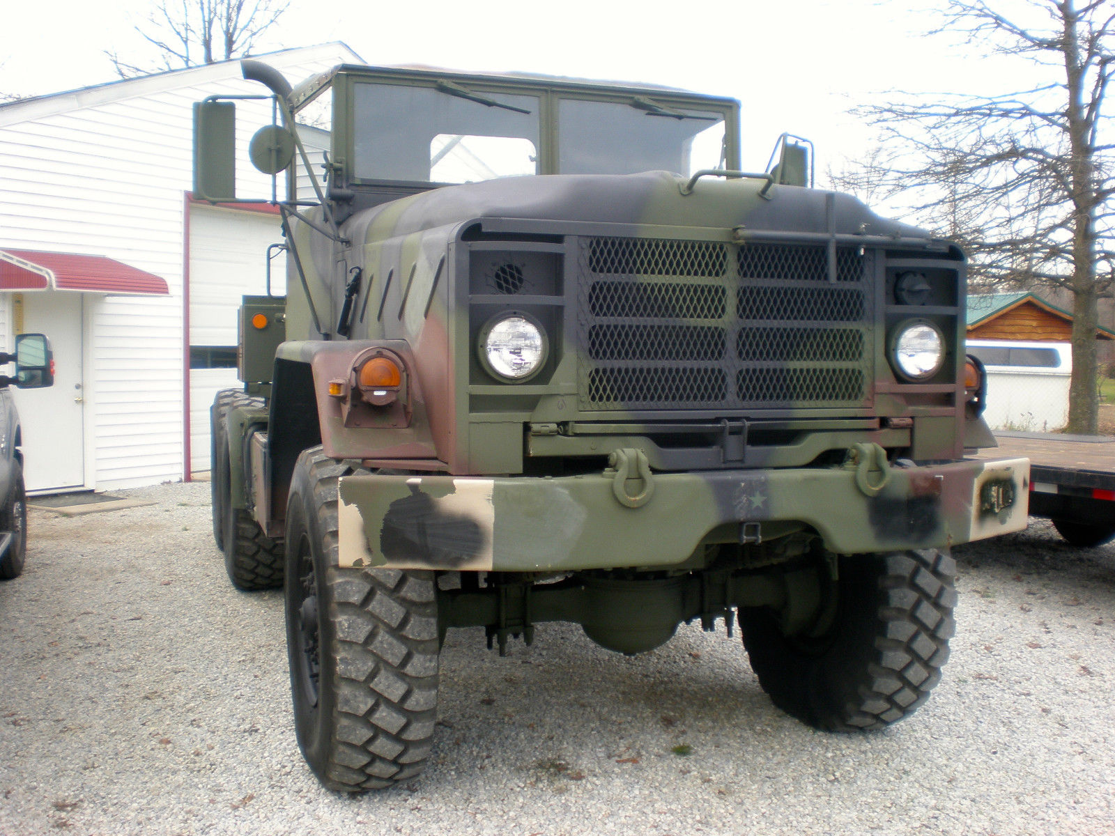 1985 am general m931 5 ton 6 6 military tractor truck for sale. Black Bedroom Furniture Sets. Home Design Ideas