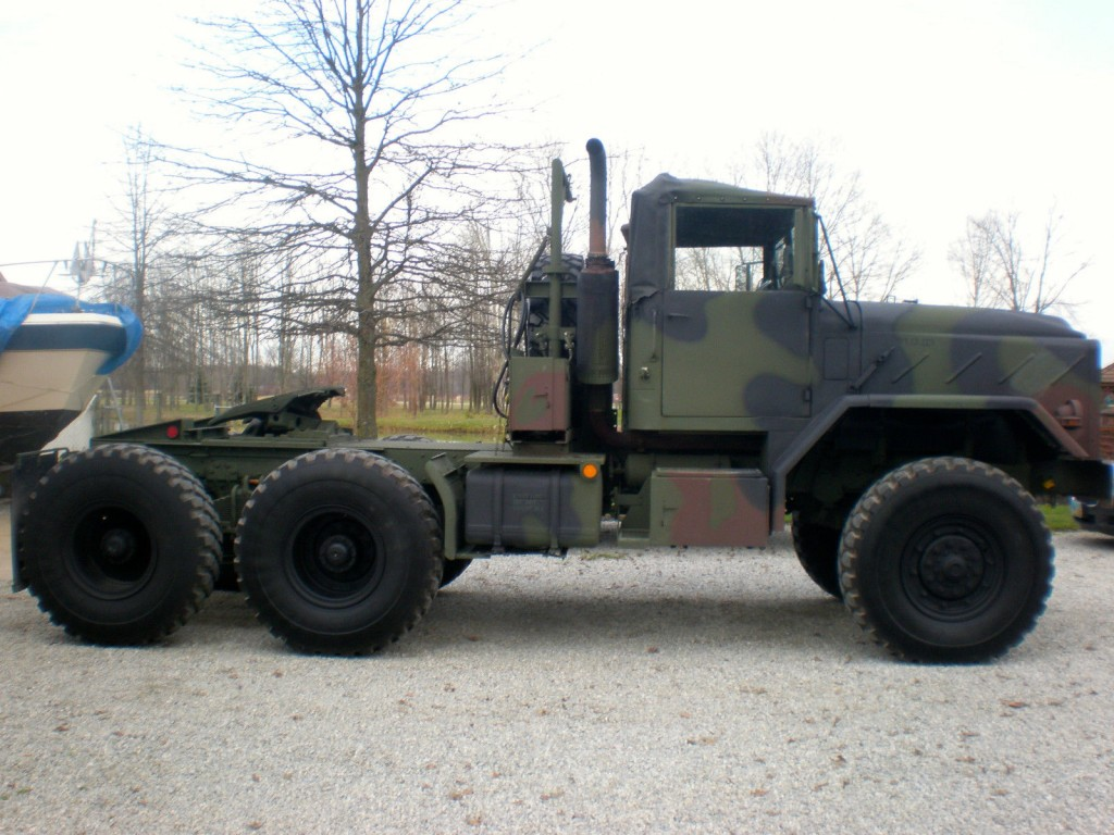 1985 Am General M931 5 Ton 6 215 6 Military Tractor Truck For Sale