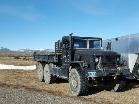 1987 M35A2 Deuce and a half 2.5 ton truck for sale
