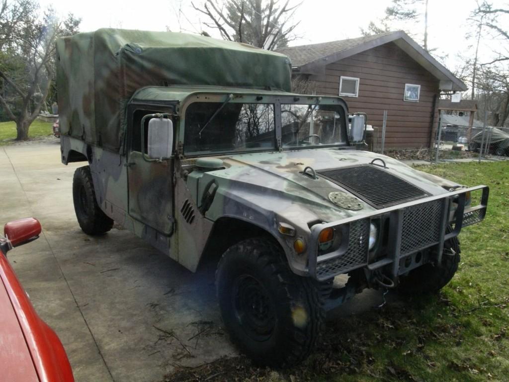1987 M998 Military Hummer 6.2L HUMVEE