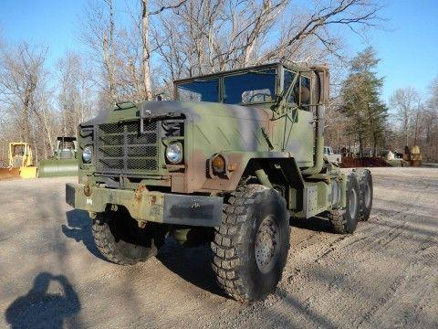 1990 AM General 5 ton M931A2 semi truck for sale