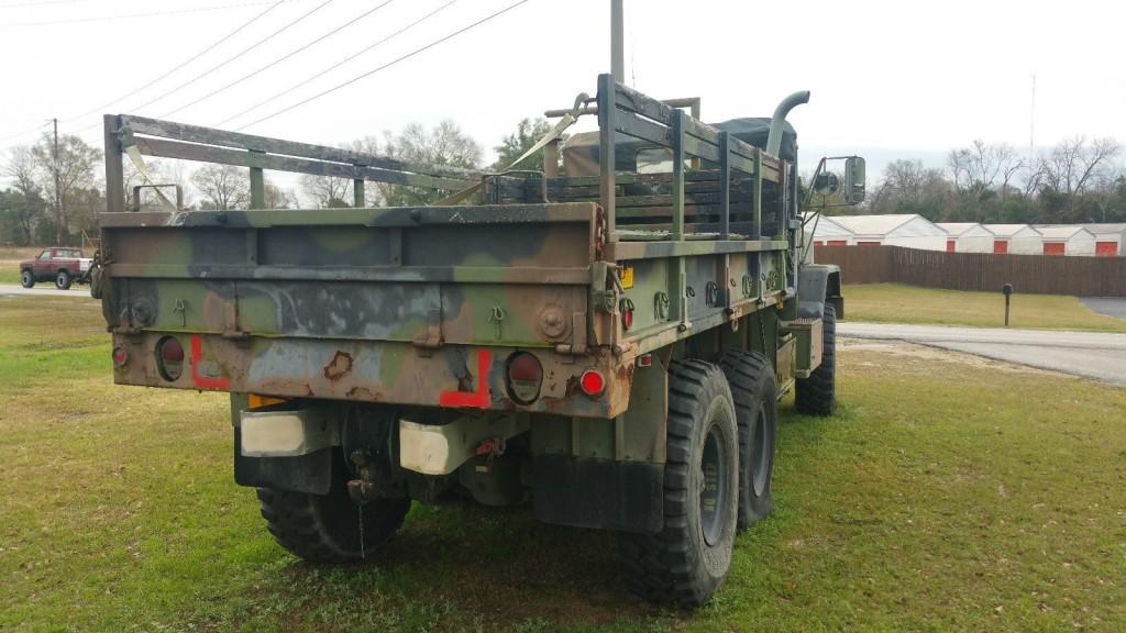 1991 AM General M923 5 Ton 6×6 Cargo Truck