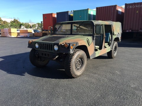 1991 AM General M998 Humvee Hmmwv for sale