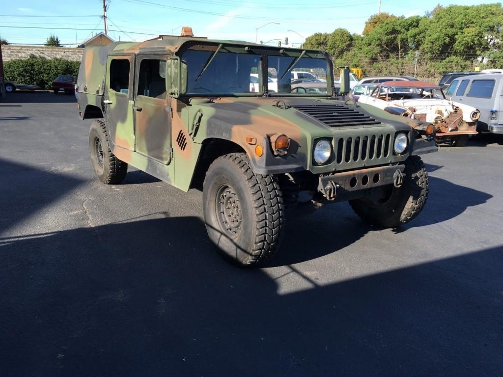 1991 AM General M998 Humvee Hmmwv