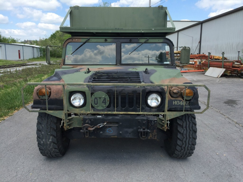Am General M Military Hummer H For Sale X on Military Hmmwv Batteries