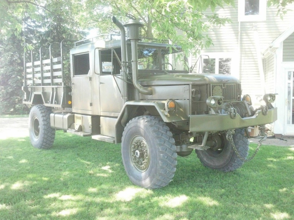Bobbed M35a2 For Sale >> AM General M35A2 Bobbed crew cab for sale