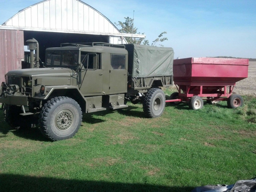 AM General M35A2 Bobbed crew cab for sale