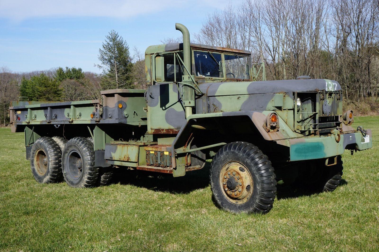 am general m813a1 5 ton 6 6 cargo truck for sale. Black Bedroom Furniture Sets. Home Design Ideas