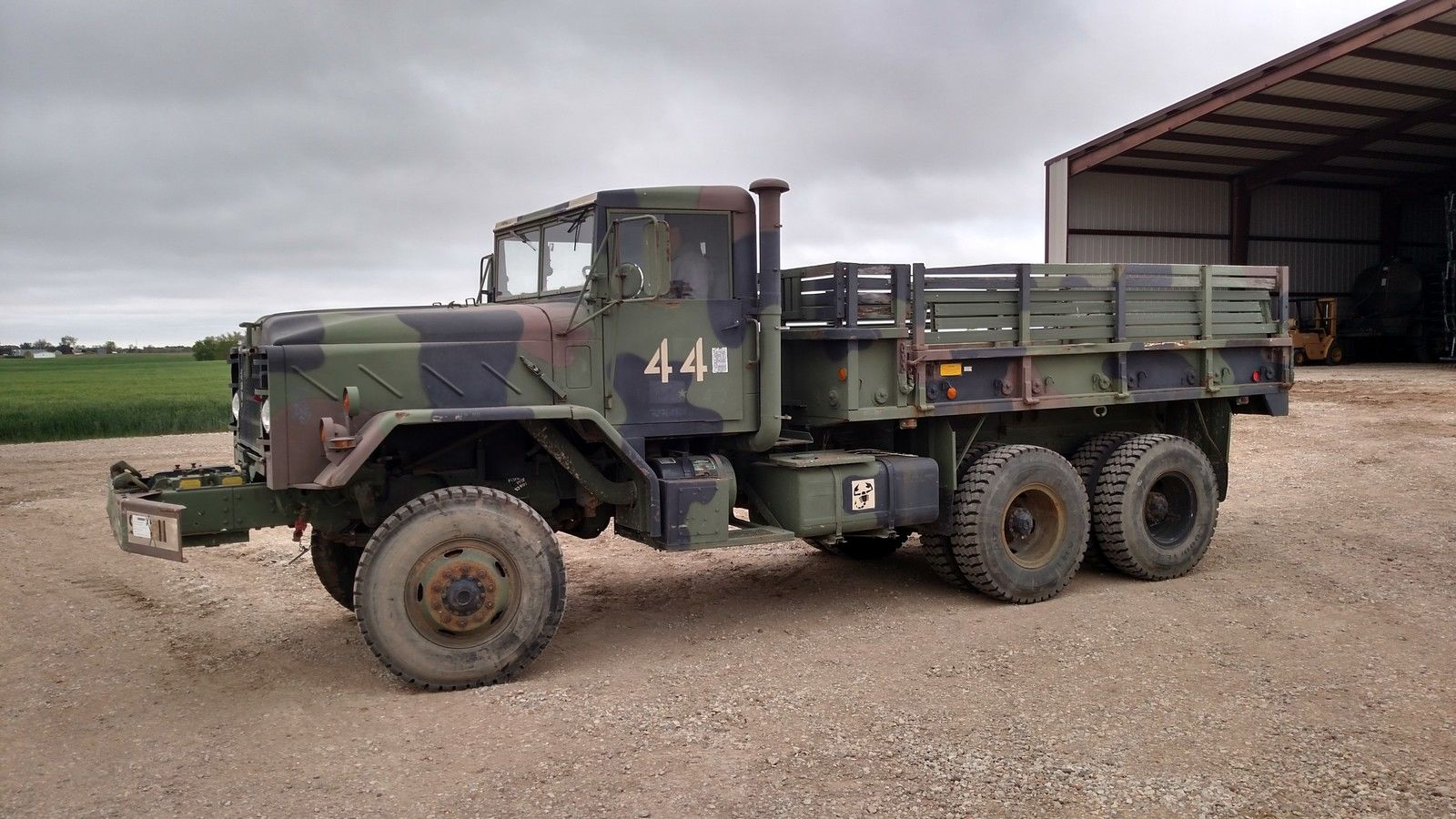 am general m925 6 6 5 ton military truck for sale. Black Bedroom Furniture Sets. Home Design Ideas