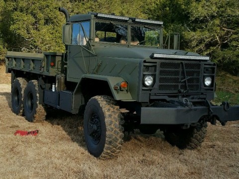 Custom 1991 BMY Harsco M925A2 6×6 Military truck for sale