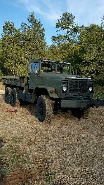 custom 1991 bmy harsco m925a2 6 6 military truck for sale. Black Bedroom Furniture Sets. Home Design Ideas