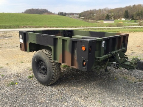 Humvee Hummer Military Trailer M1101 1102 for sale