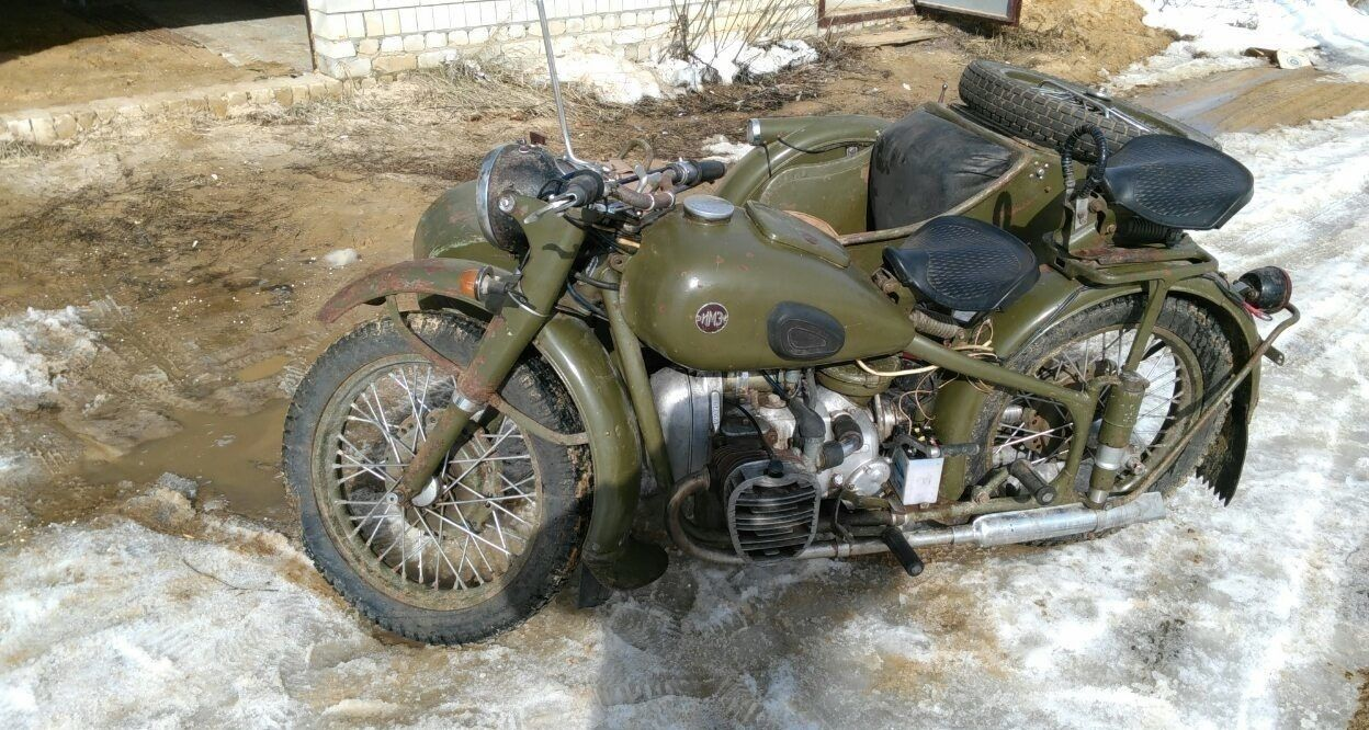 m 72 heavy motorcycle with a sidecar for sale. Black Bedroom Furniture Sets. Home Design Ideas