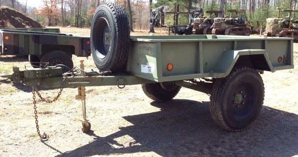 Willys Military Jeep Sale >> Pribbs Steel M105A3 Cargo Military Trailer for sale