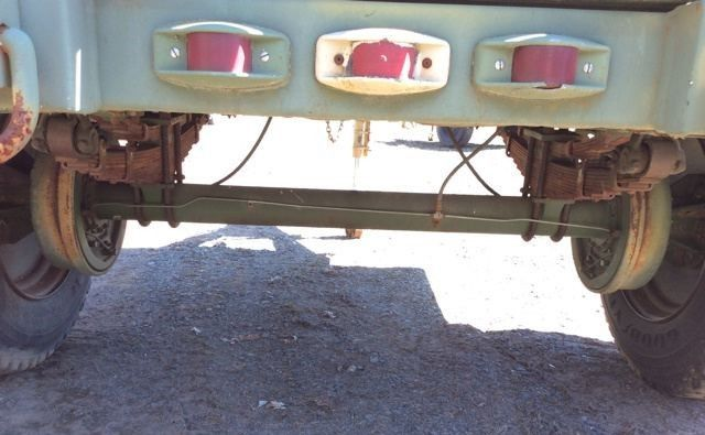 Pribbs Steel M A Cargo Military Trailer For Sale on Military Humvee Batteries
