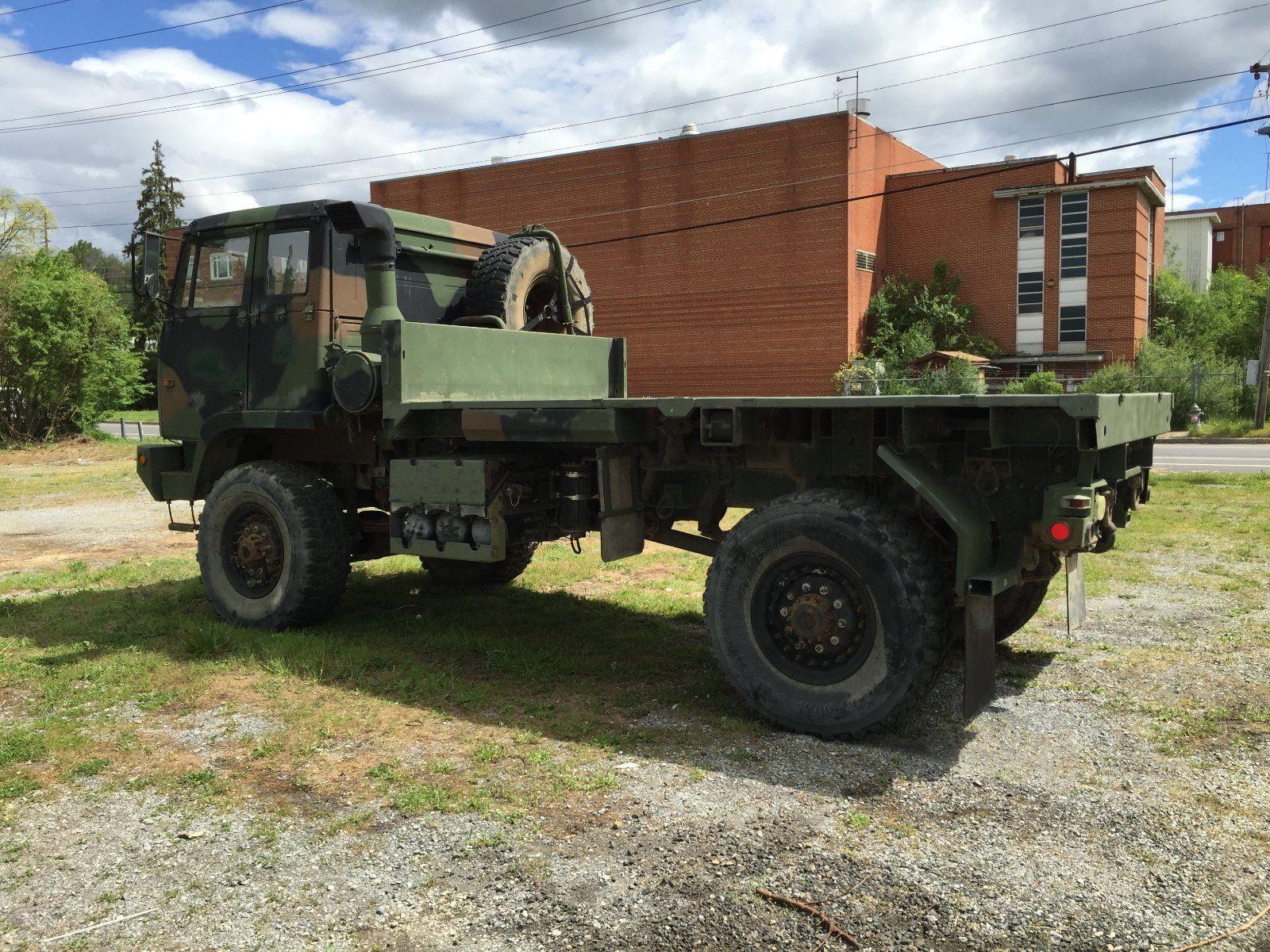 stewart stevenson m1081 4 4 cargo truck for sale. Black Bedroom Furniture Sets. Home Design Ideas