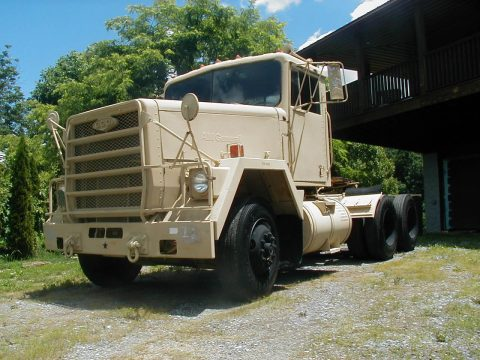 4 wheel drive 1983 AM General M915A1 military for sale
