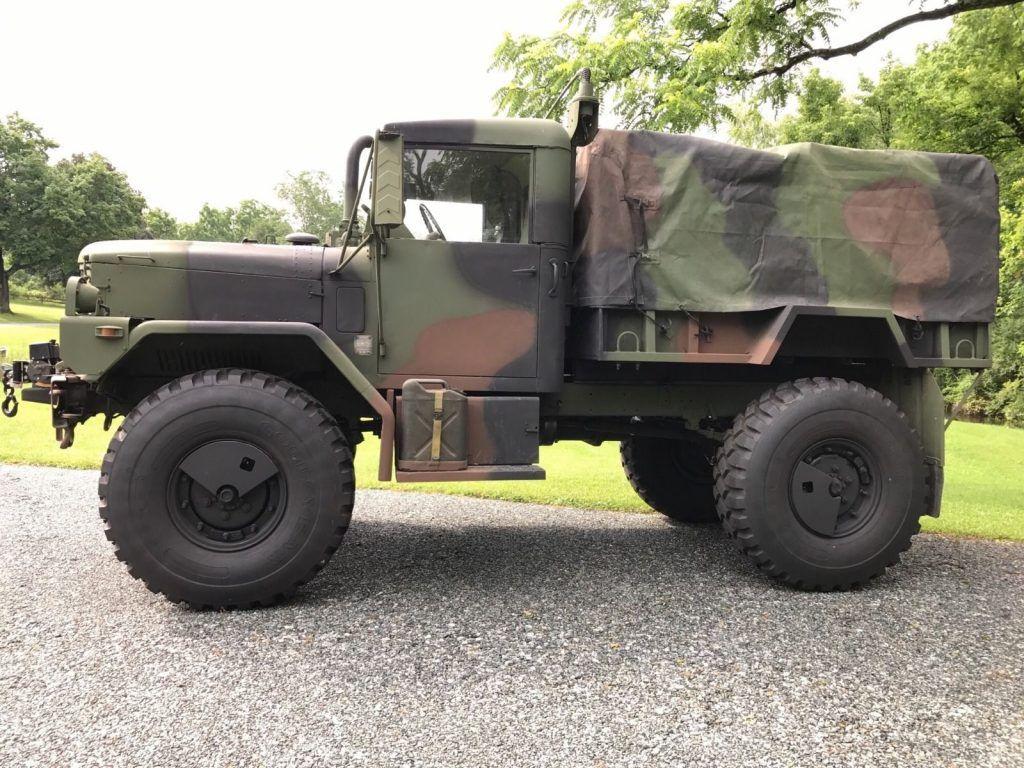 Bobbed deuce AM General military truck for sale